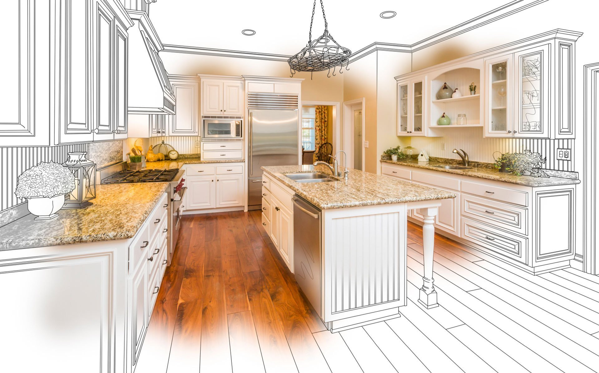 Bestaande Keuken Uitbreiden : Een nieuwe keuken laten plaatsen wat kost een keuken plaatsen